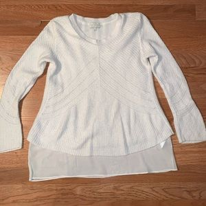 Lucky Brand White Sweater